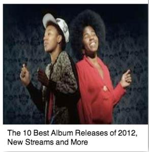 10 Best Albums of 2012