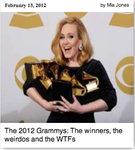 2012 Grammys Recap